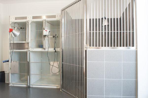 Tierarzt-Käfige